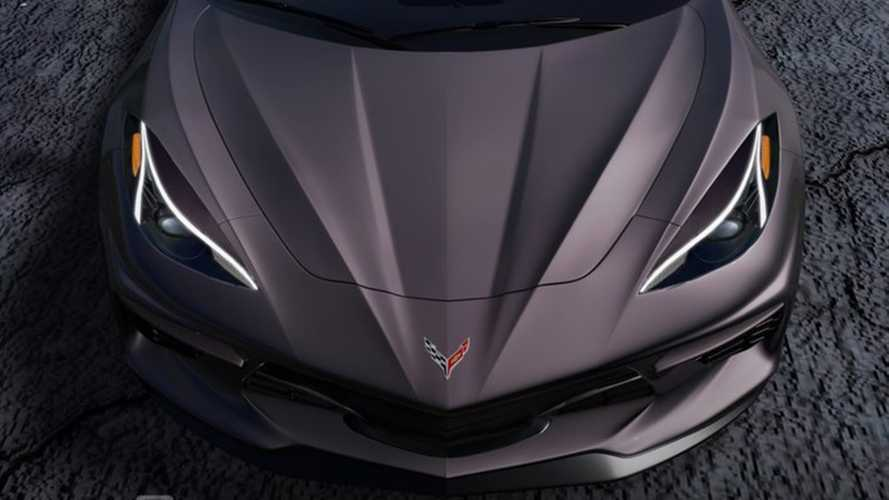 Mid-engined Chevy Corvette rendered based on teaser