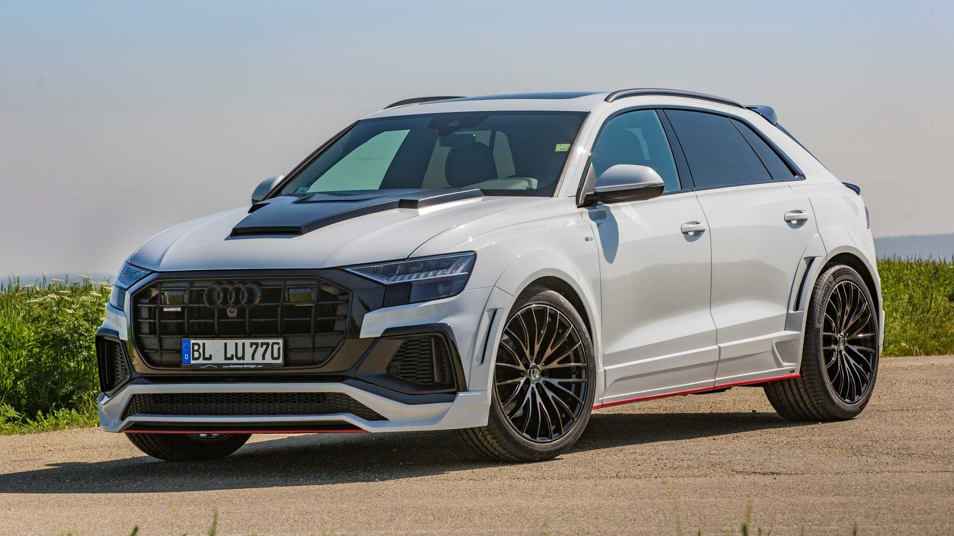 Audi Q8 by Lumma Design is not for everyone
