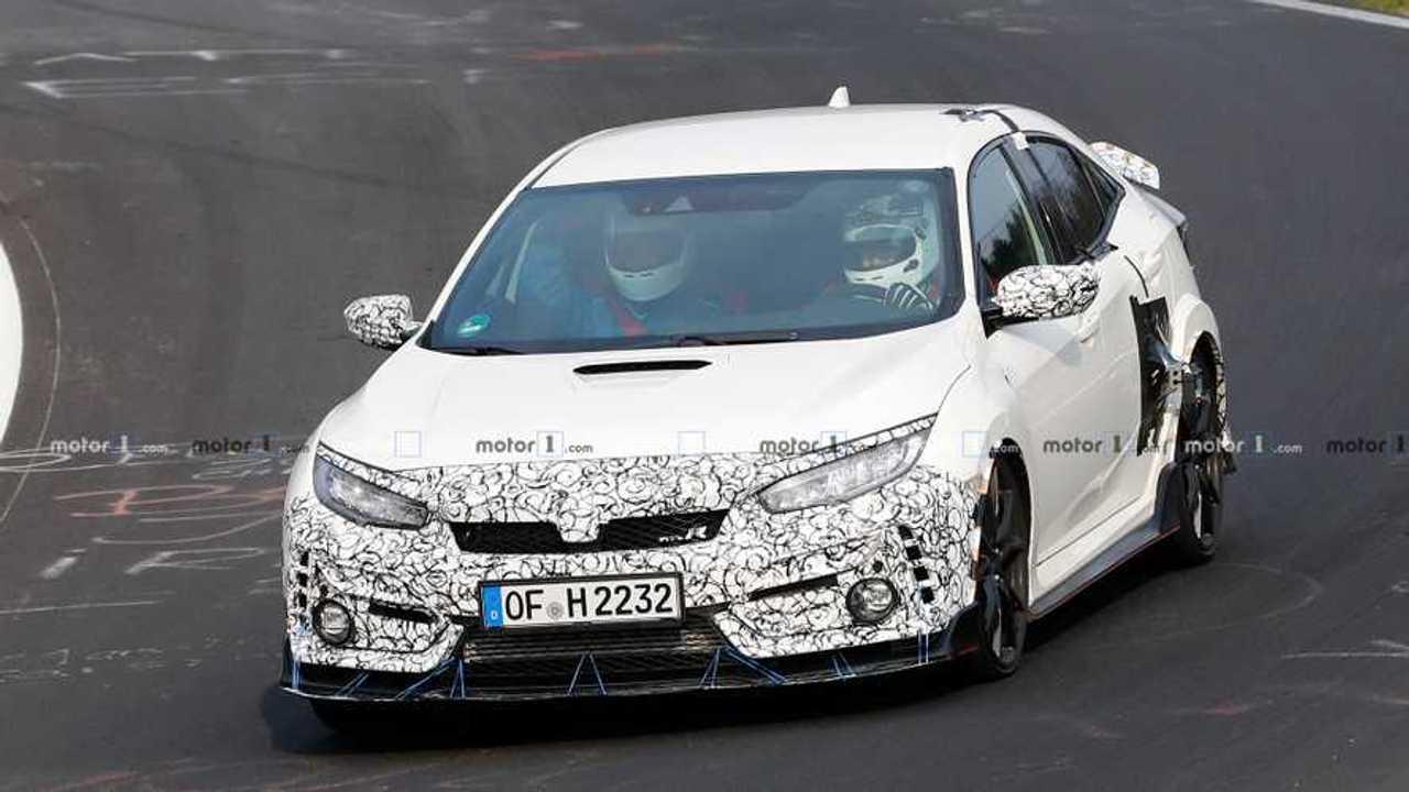 Honda Civic Type R facelift - Flagra