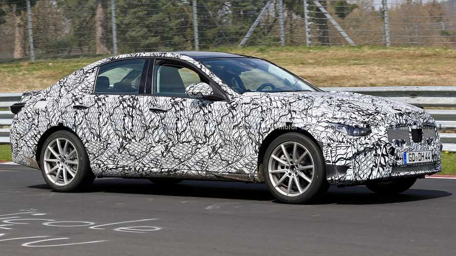 Mercedes C-Class Spied Looking Comfortable On The Nürburgring