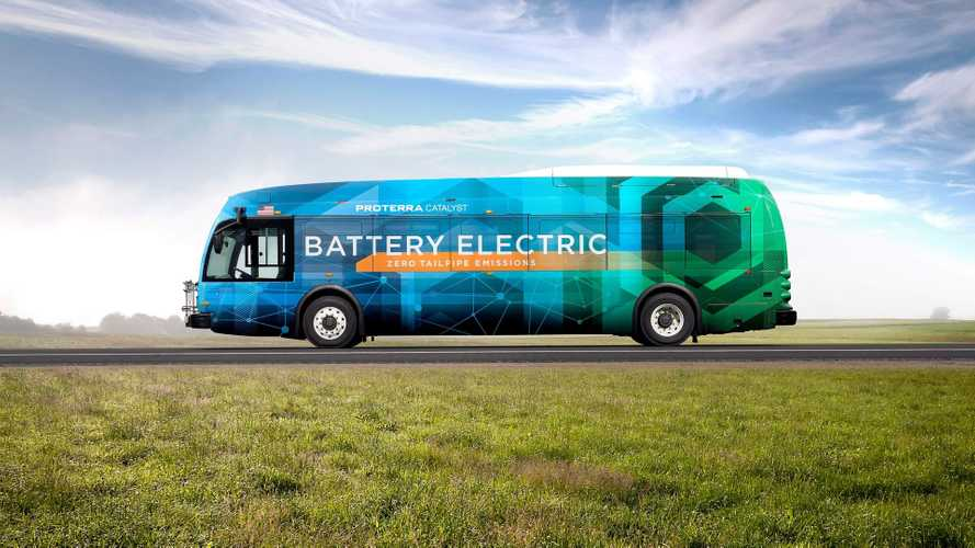 Proterra Catalyst electric buses