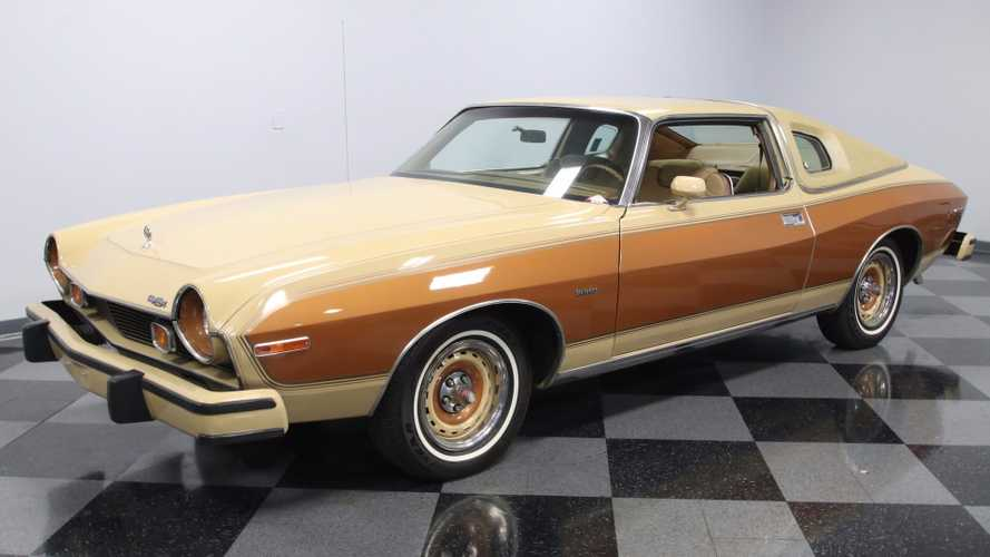 Insanely Rare 1977 AMC Matador Barcelona Edition Coupé Costs $23k