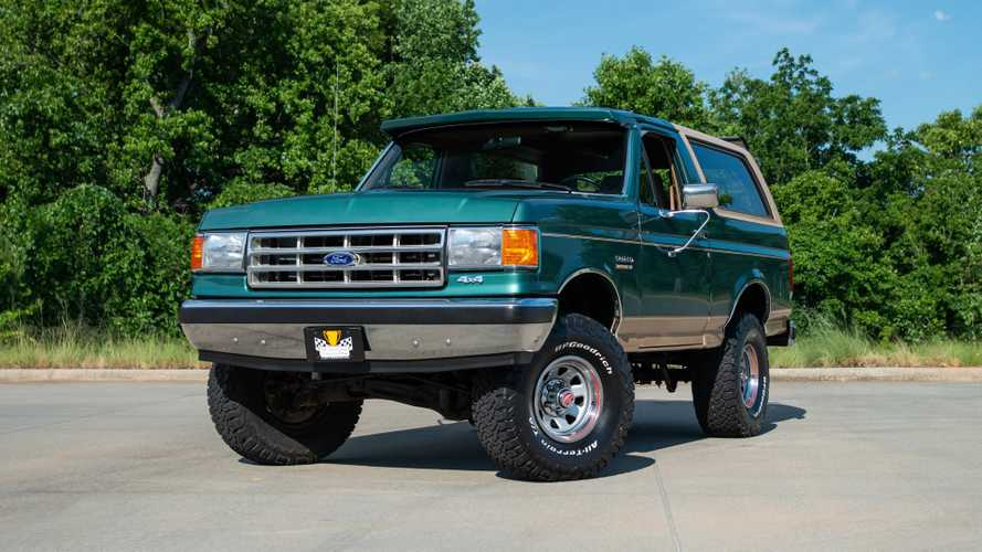 Time Capsule Eddie Bauer Bronco Has Just 28,000 Miles