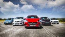Opel Corsa: Alle Generationen im Überblick