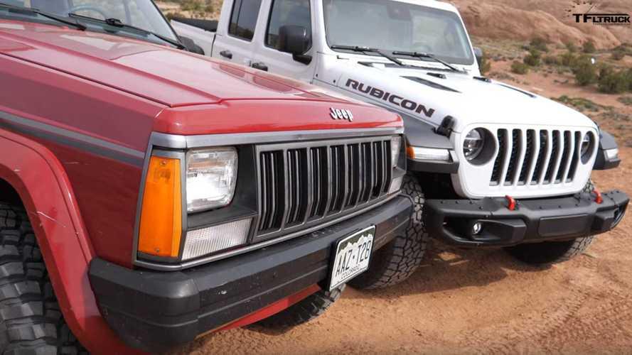 Jeep Comanche Meets The Gladiator In Off-Road Showdown