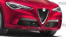 Alfa Romeo Stelvio 2020, render de Motor1.com