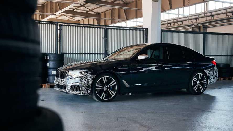 BMW dévoile un puissant prototype de Série 5 électrique
