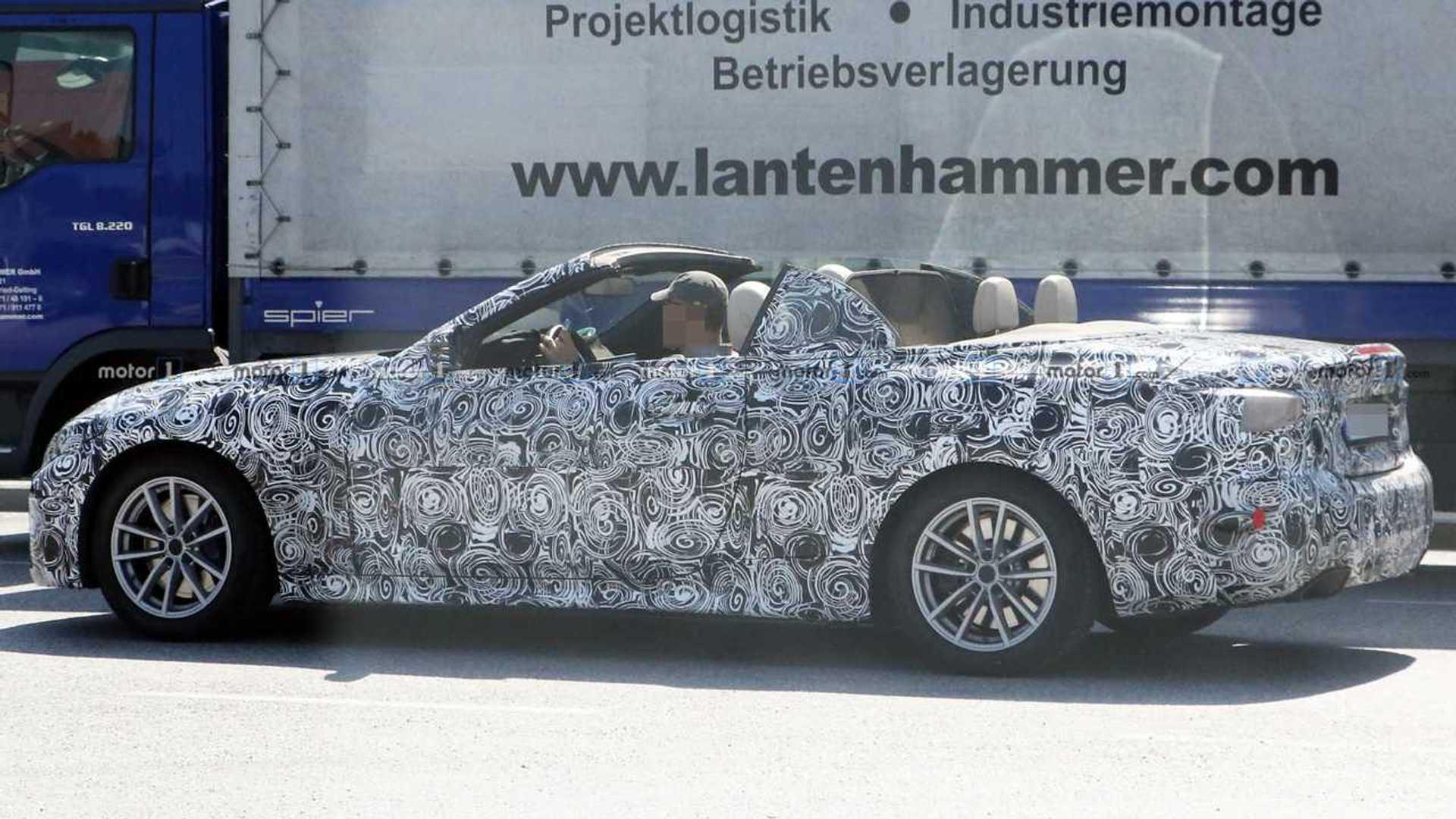 2020 - [BMW] Série 4 Coupé/Cabriolet G23-G22 - Page 2 2020-bmw-4-series-convertible-spy-photo