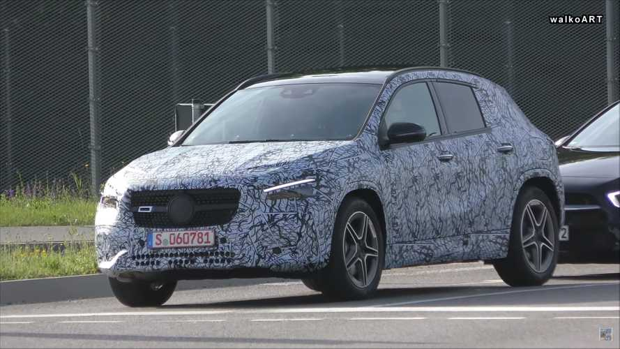 Flagra: Mercedes-Benz GLA 2020 ficará mais SUV e menos hatchback