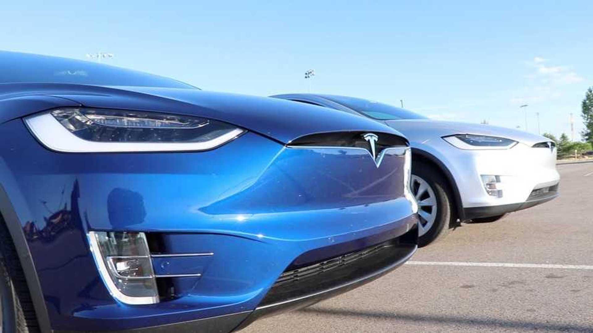 Tesla Model X Raven Vs Used Model X: Side-By-Side Video Comparison