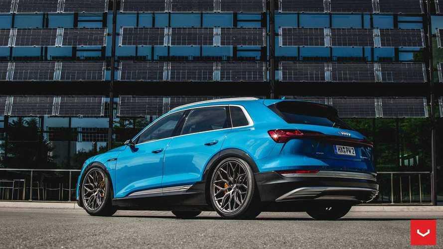 L'Audi e-tron tombe entre les mains de Vossen