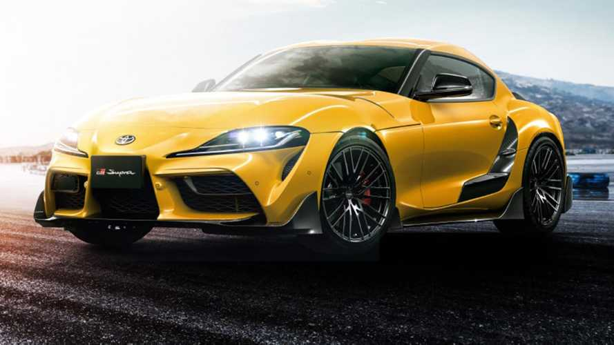 c3e7086107 Aftermarket / Tuning Toyota Supra Gets Carbon Fiber Body Kit, 19-Inch  Wheels From TRD
