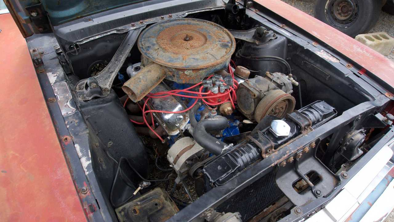 1967 Ford Mustang Fastback project car