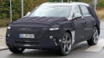 genesis gv80 spy photos