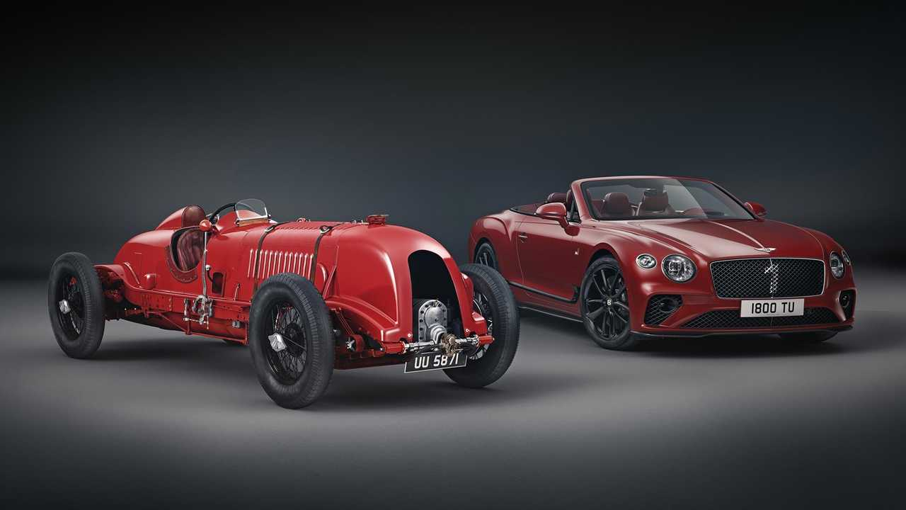 The Continental GT Convertible Number 1 Edition by Mulliner