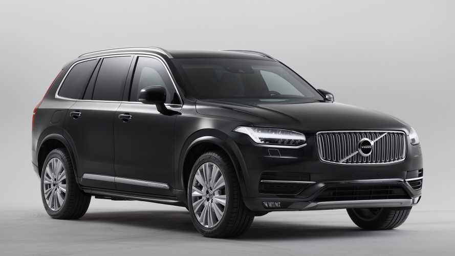 Volvo XC90 Armoured weighs nearly 10,000 pounds