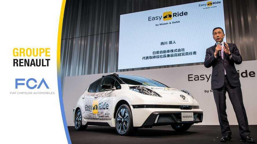 Nissan não se opõe à fusão da Renault com Fiat-Chrysler