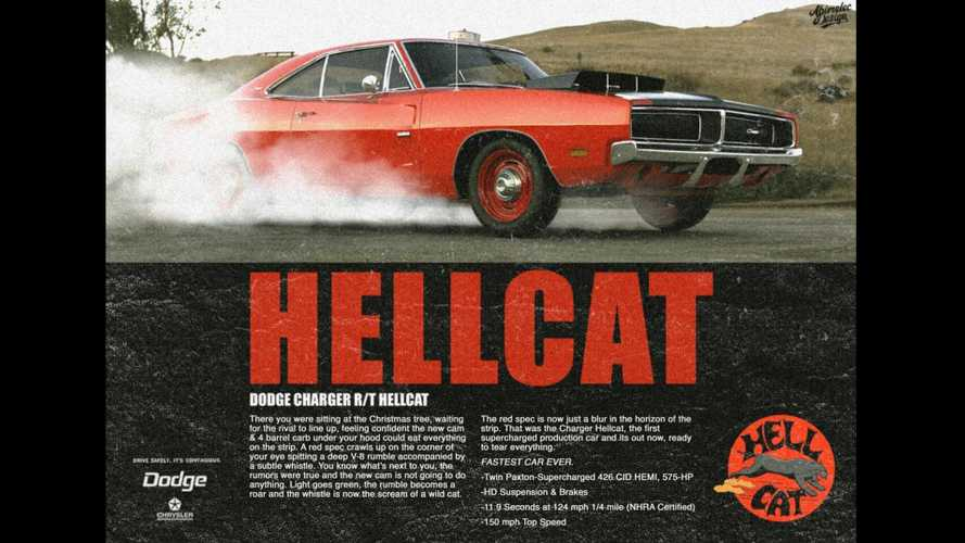 1969 Charger R/T Hellcat Imagines A Muscle Car That Never Was