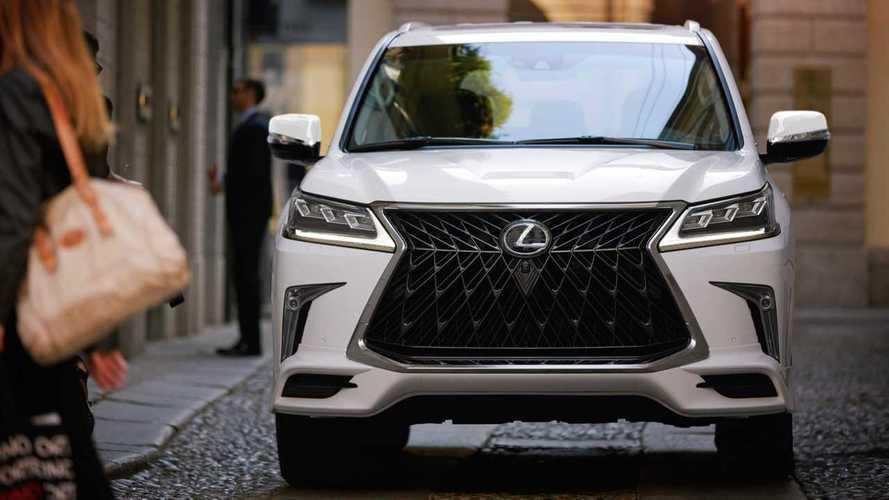 2020 Lexus LX Sport Package
