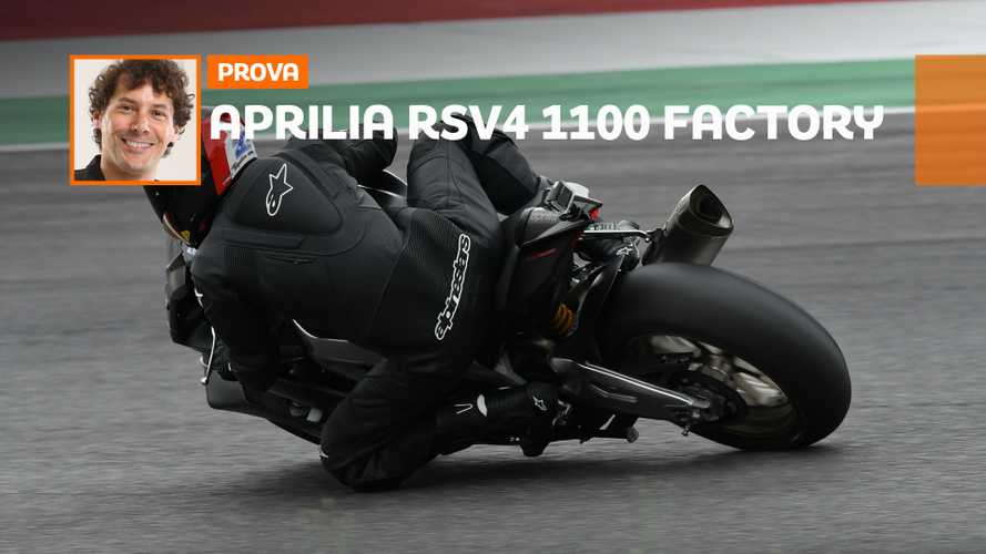 Aprilia RSV4 1100 Factory - TEST