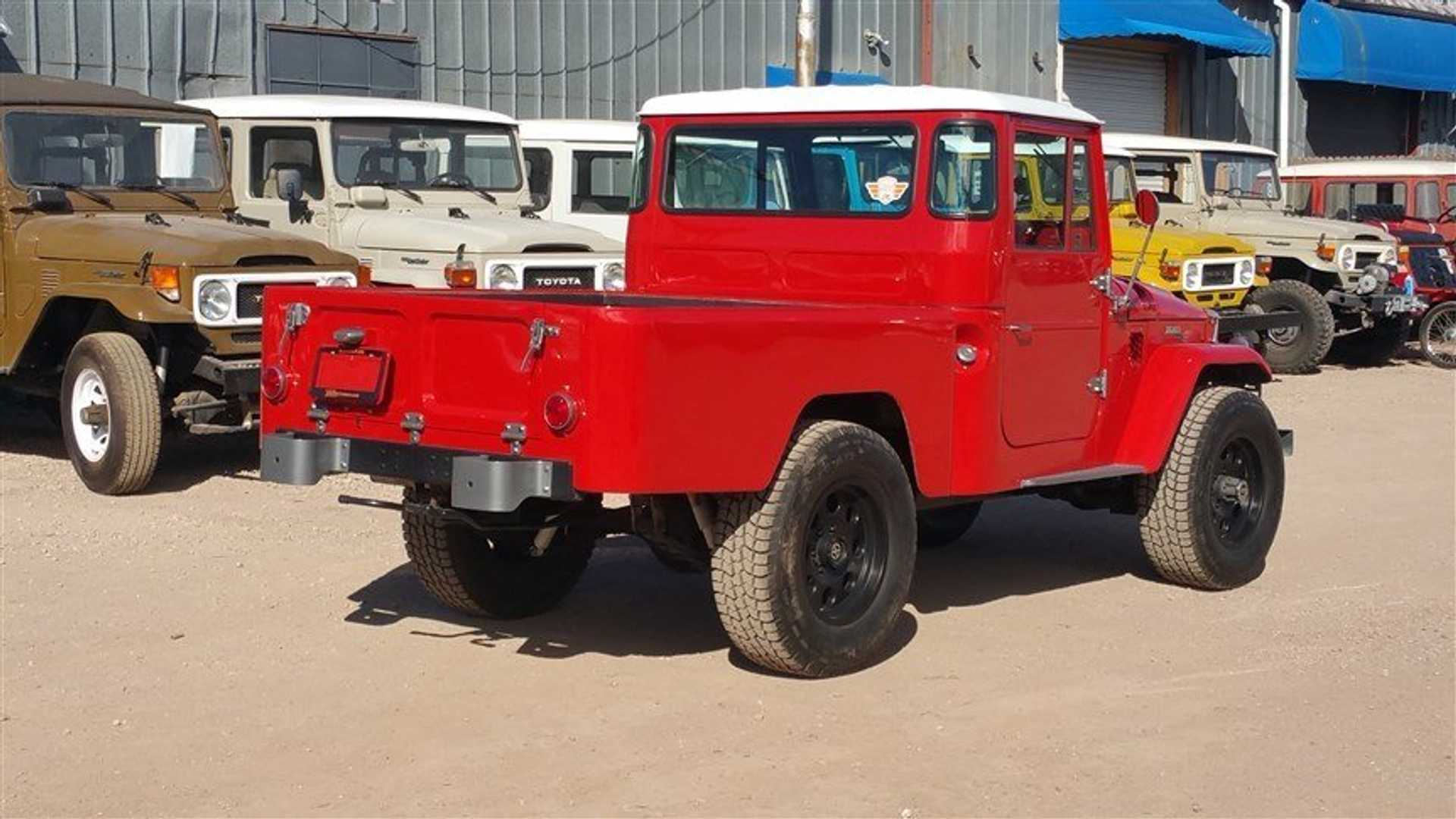 "[""Pair Of Fully Restored And Upgraded Toyota FJs""]"