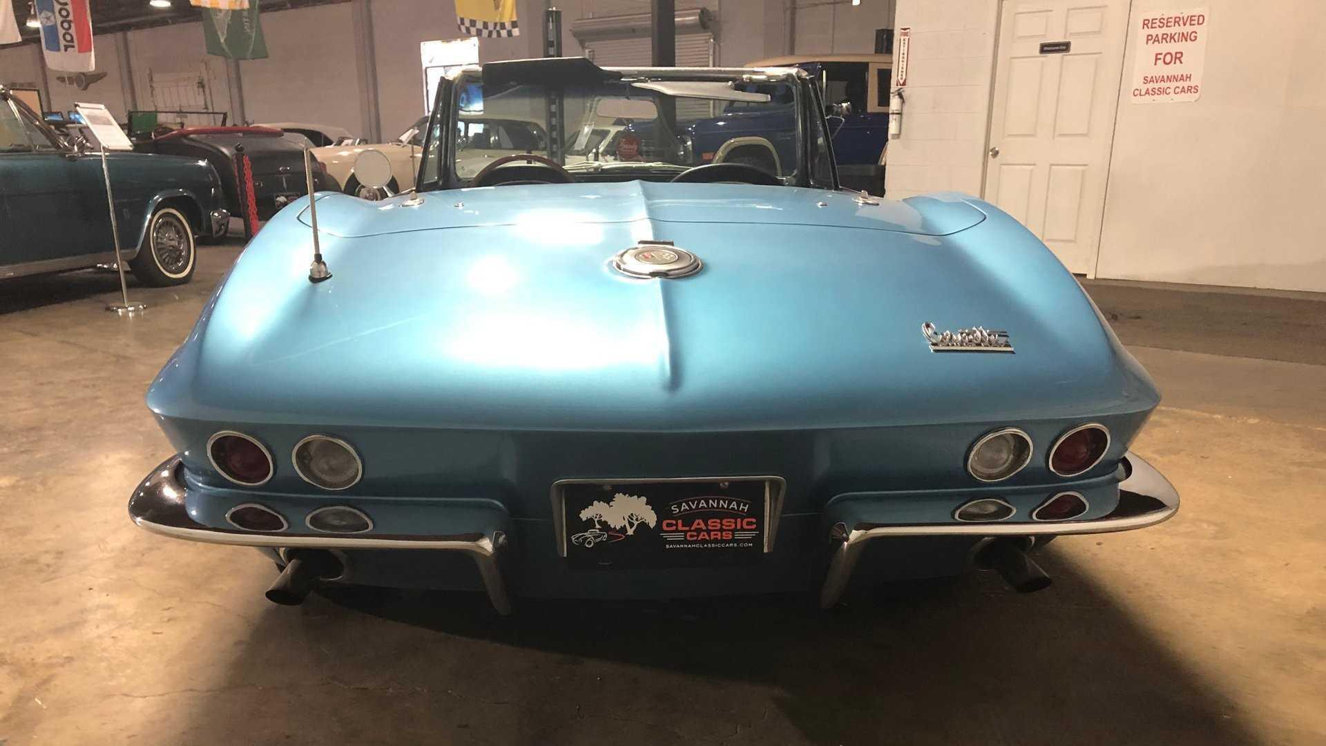 "[""CFS: 1966 Chevrolet Corvette Convertible C2""]"