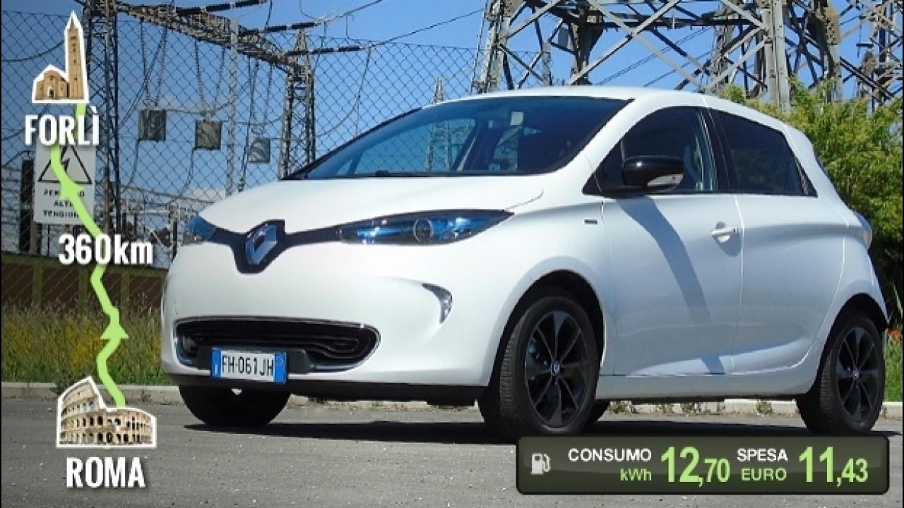 [Copertina] - Renault Zoe, la prova dei consumi reali