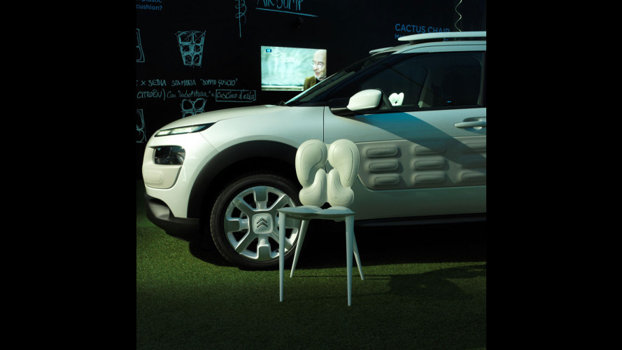 Citroen C4 Cactus, alla Design Week si fa sedia [VIDEO]