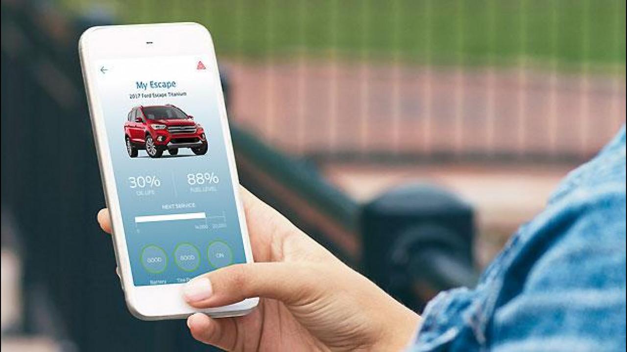 [Copertina] - Ford SYNC Connect, l'auto ora si controlla con lo smartphone