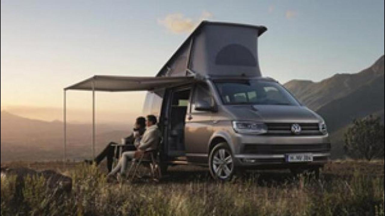 [Copertina] - Volkswagen California, anteprima italiana a Parma