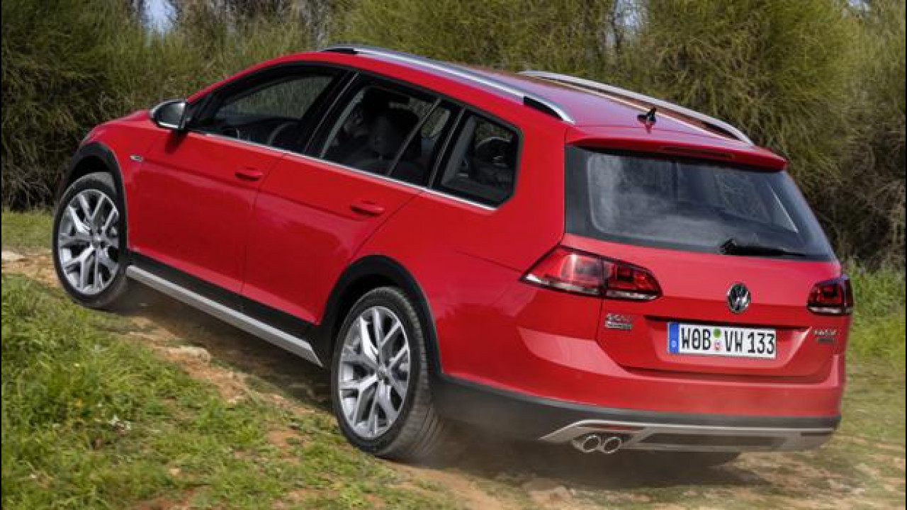 [Copertina] - Volkswagen Golf Alltrack, tra crossover e station wagon