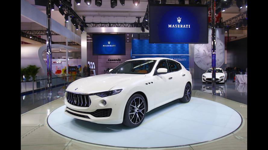 Maserati Levante è pronta a conquistare la Cina