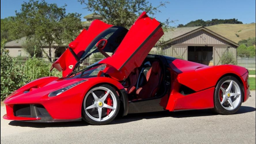 Ferrari, LaFerrari Spider sta arrivando