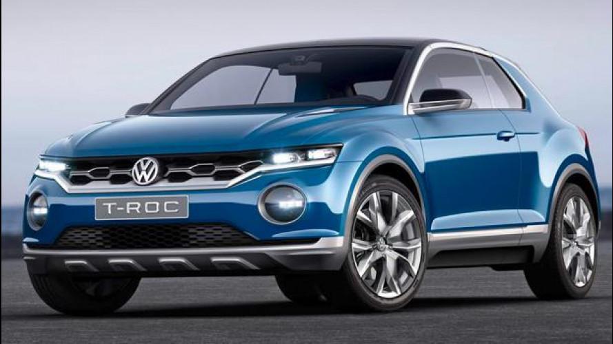 Volkswagen T-ROC, il SUV leggero pronto a tutto