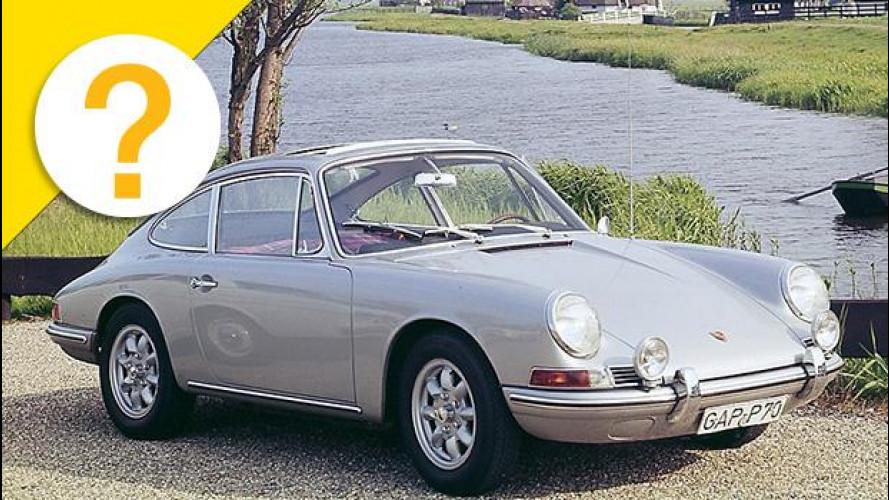 La Porsche 911 si doveva chiamare 901