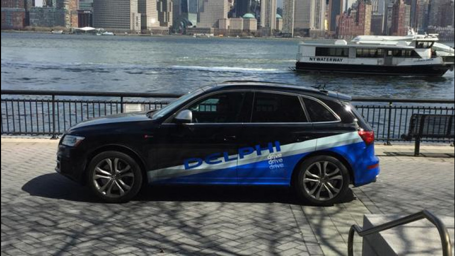 [Copertina] - Guida autonoma, impresa compiuta da San Francisco a New York