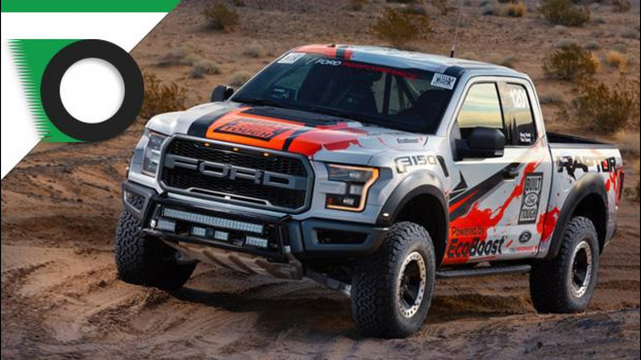[Copertina] - Ford F-150 Raptor, il pick up d'America ha fame di off road