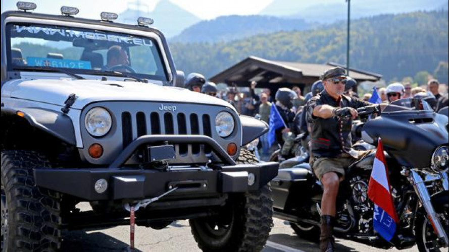 Jeep e Harley all'European Bike Week 2015