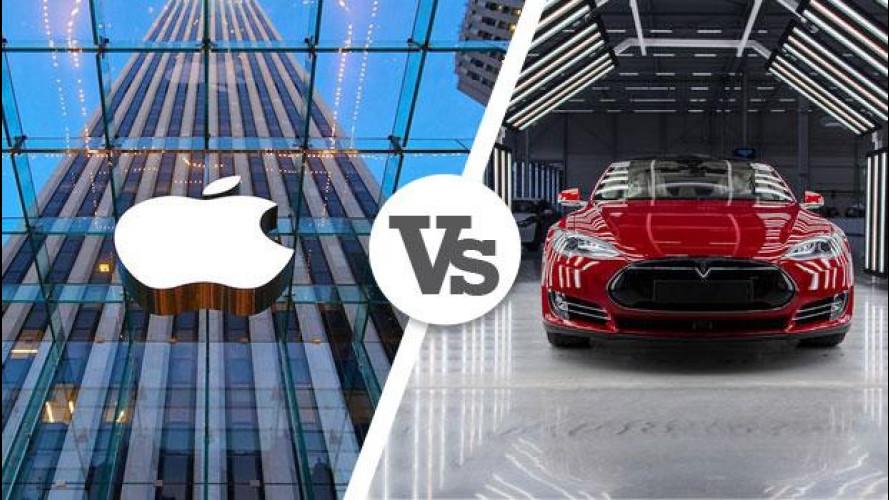 Apple contro Tesla, la guerra dei cervelli
