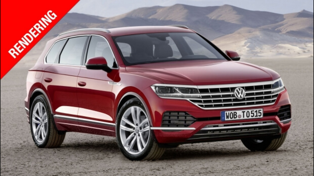 [Copertina] - Nuova Volkswagen Touareg, il lusso che non impegna