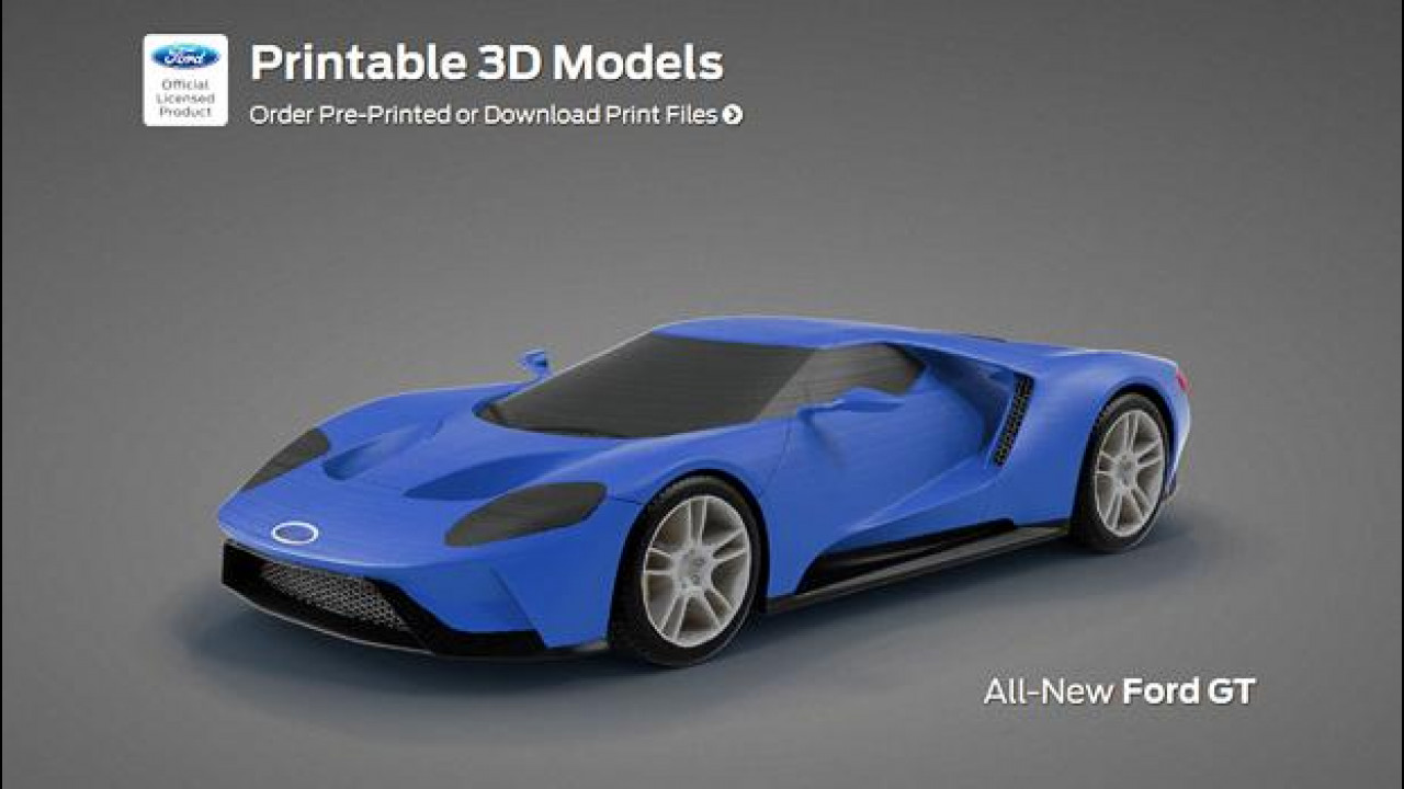 [Copertina] - Ford GT, la stampa 3d per lo sviluppo della nuova supercar