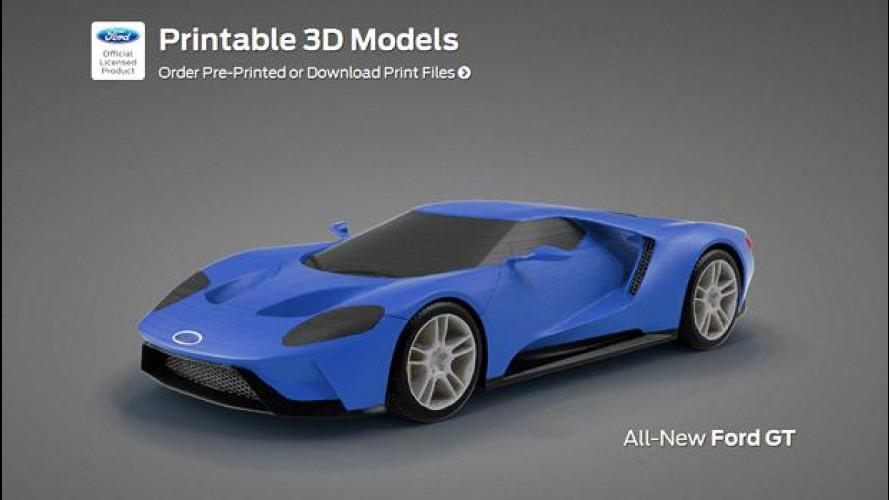 Ford GT, la stampa 3d per lo sviluppo della nuova supercar