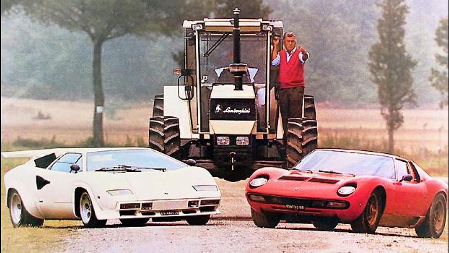 Lamborghini, i 100 anni di Ferruccio