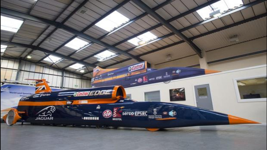 """L'auto più veloce al mondo è fatta di """"ingegneria liquida"""""""