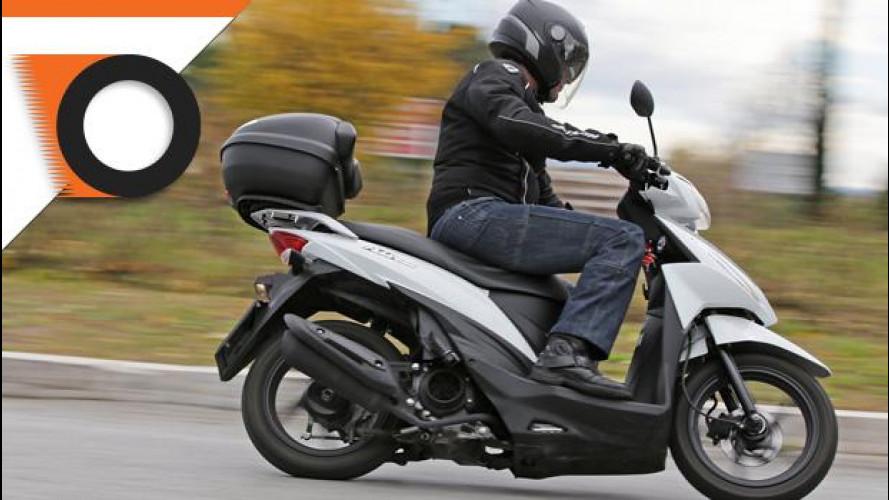 Suzuki Address 110 è lo scooter della settimana
