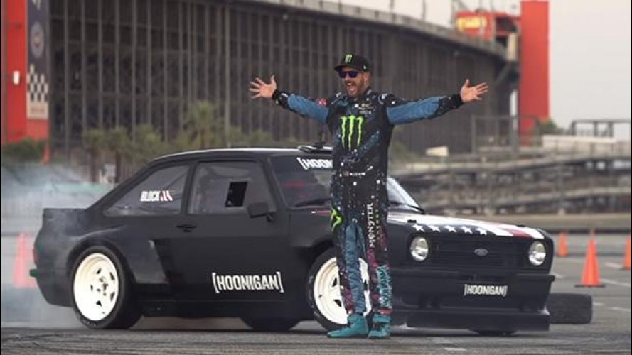 Ken Block da spettacolo con la Ford Escort MK2 [VIDEO]