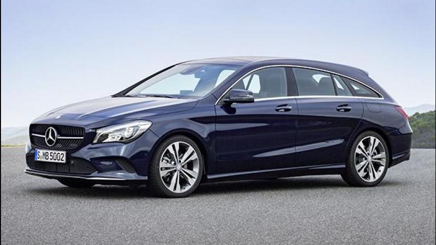 Mercedes CLA, restyling con giudizio