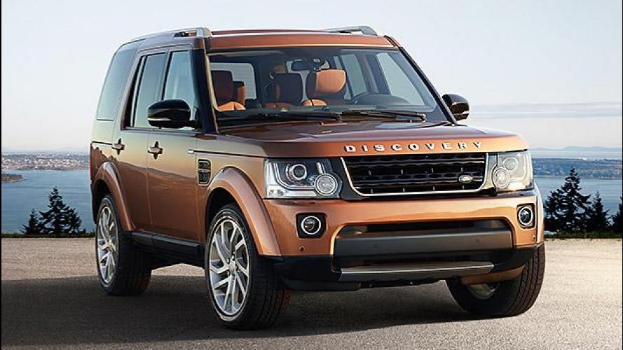 Land Rover Discovery Landmark e Graphite, speciali nel look