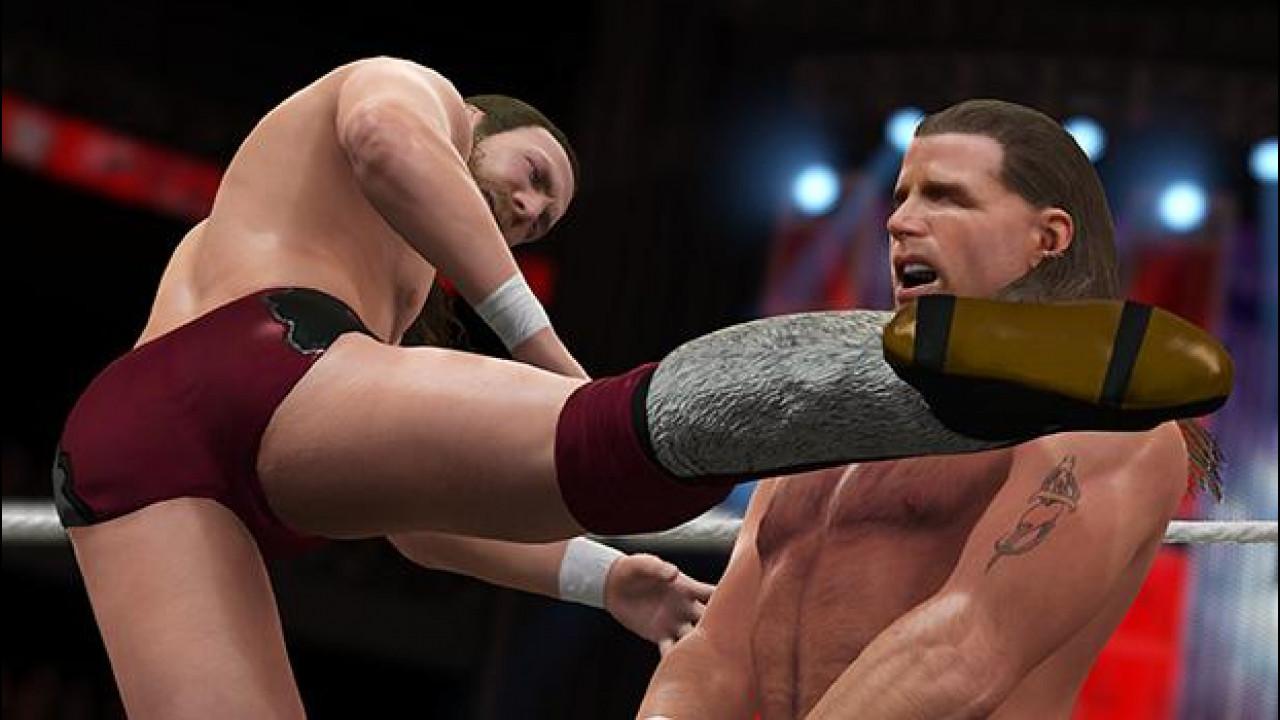 [Copertina] - Sali sul ring di WWE 2K16 con Dwayne Johnson e Dave Bautista