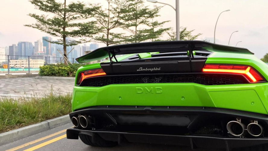DMC reveals Huracan Affari with full body kit [videos]